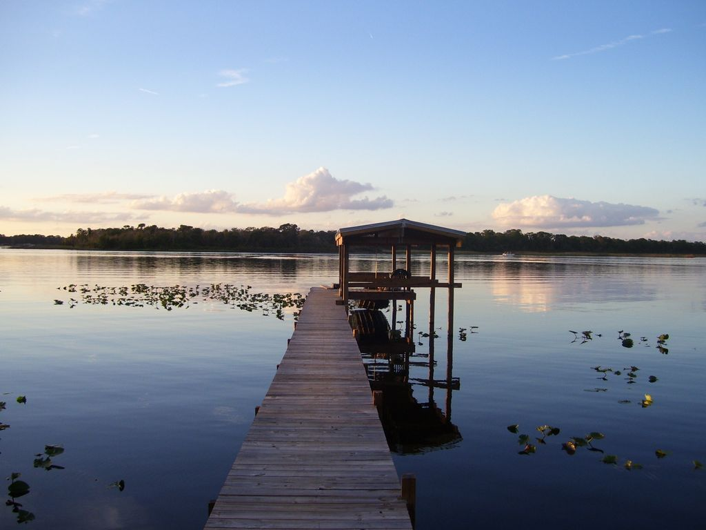 Dock on Lake Josephine